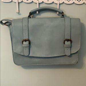 Ice Blue Crossbody Bag